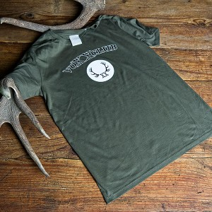Herrenshirt Logo, khaki