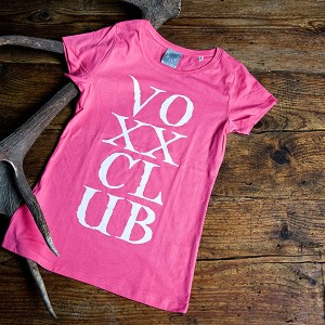 Damenshirt voXXclub, pink