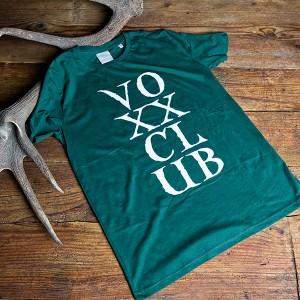 Herrenshirt voXXclub, bottle green