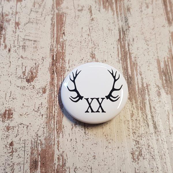 button weiß