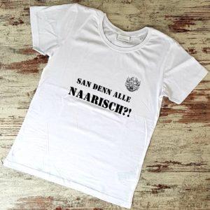 Damenshirt Naarisch?!, weiß